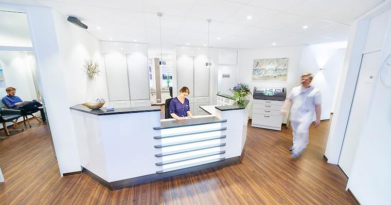 Moderne Zahnarztpraxis in Ibbenbüren